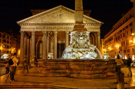 Pantheon - Piazza della Rotonda - Rome by night